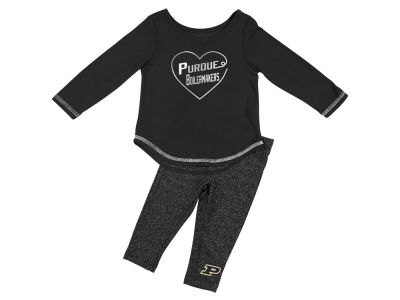 Purdue Boilermakers Colosseum NCAA Newborn Girls Legging Set