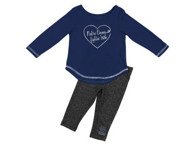 Notre Dame Fighting Irish Colosseum NCAA Infant Girls Legging Set