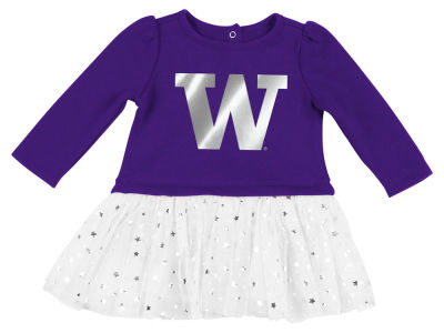 Washington Huskies Colosseum NCAA Newborn Girls Tutu Dress