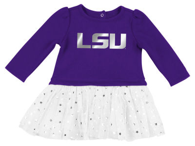 LSU Tigers Colosseum NCAA Newborn Girls Tutu Dress