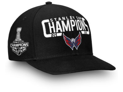 Washington Capitals 2018 NHL Stanley Cup Champ Snapback Cap a0341fd39