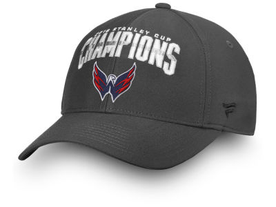 Washington Capitals 2018 NHL Stanley Cup Champ Flex Cap 6ba55f808