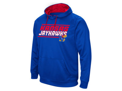 Kansas Jayhawks NCAA Men's Stack Performance Hoodie