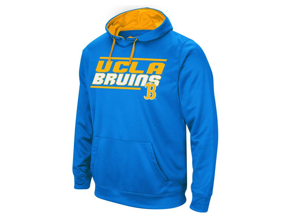 UCLA Bruins Colosseum NCAA Men s Stack Performance Hoodie  3bbd968df