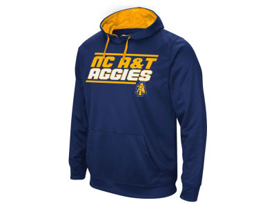 North Carolina A&T Aggies Colosseum NCAA Men's Stack Performance Hoodie