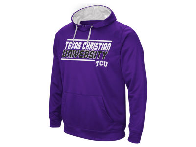 Texas Christian Horned Frogs NCAA Men's Stack Performance Hoodie