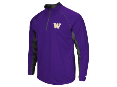 Washington Huskies NCAA Men's Rival Quarter Zip Pullover