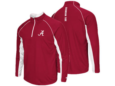 Alabama Crimson Tide NCAA Men's Rival Quarter Zip Pullover