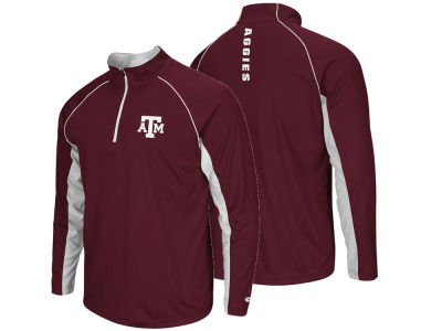 Texas A&M Aggies NCAA Men's Rival Quarter Zip Pullover