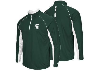 Michigan State Spartans NCAA Men's Rival Quarter Zip Pullover
