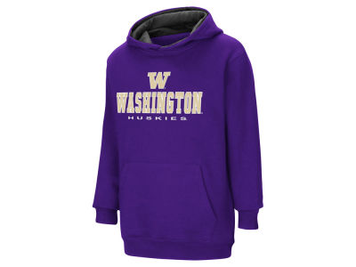 Washington Huskies NCAA Youth Pullover Hooded Sweatshirt