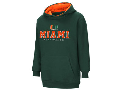 Miami Hurricanes Colosseum NCAA Youth Pullover Hooded Sweatshirt
