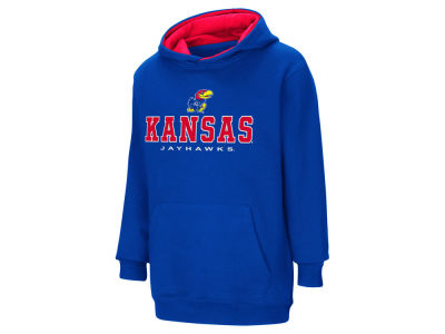 Kansas Jayhawks NCAA Youth Pullover Hooded Sweatshirt
