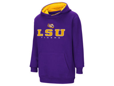 LSU Tigers NCAA Youth Pullover Hooded Sweatshirt