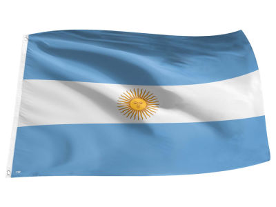 Argentina World Cup Flag 3x5
