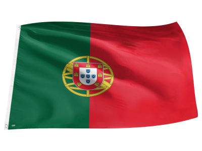 Portugal World Cup Flag 3x5