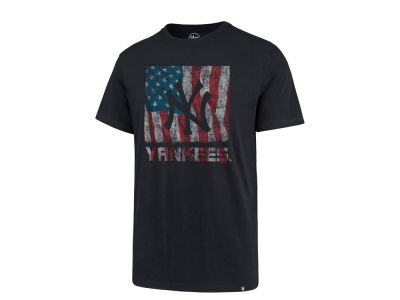 New York Yankees MLB Men's Pastime Flag T-Shirt