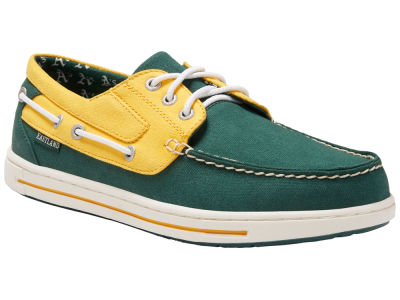 Oakland Athletics Eastland Shoes MLB Adventure Shoe