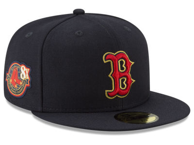 Boston Red Sox New Era MLB Trophy Patch 59FIFTY Cap