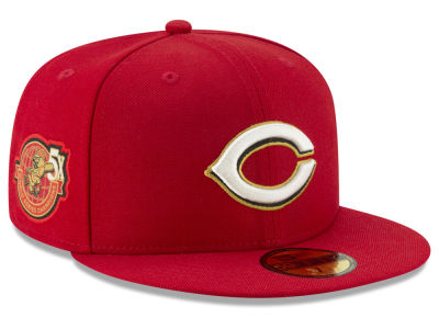 Cincinnati Reds New Era MLB Trophy Patch 59FIFTY Cap