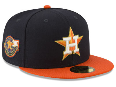 Houston Astros New Era MLB Trophy Patch 59FIFTY Cap