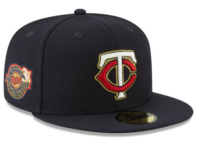 Minnesota Twins New Era MLB Trophy Patch 59FIFTY Cap