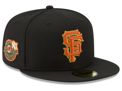 San Francisco Giants New Era MLB Trophy Patch 59FIFTY Cap