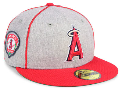 Los Angeles Angels New Era MLB Stache 59FIFTY Cap