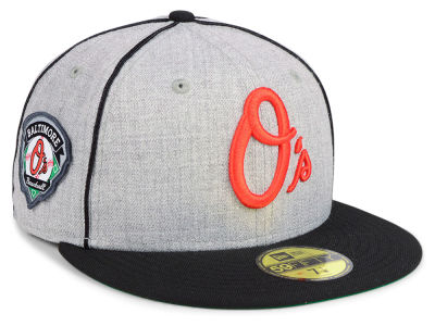 Baltimore Orioles New Era MLB Stache 59FIFTY Cap