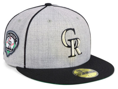 Colorado Rockies New Era MLB Stache 59FIFTY Cap