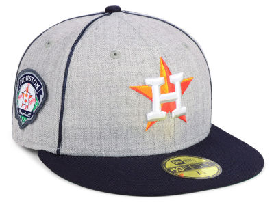 Houston Astros New Era MLB Stache 59FIFTY Cap