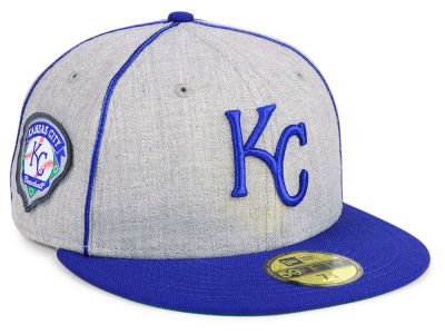 Kansas City Royals New Era MLB Stache 59FIFTY Cap