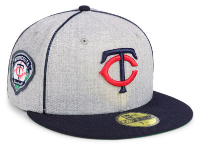 Minnesota Twins New Era MLB Stache 59FIFTY Cap