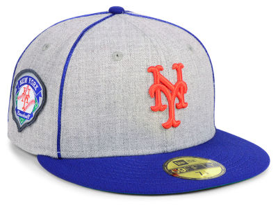 New York Mets New Era MLB Stache 59FIFTY Cap