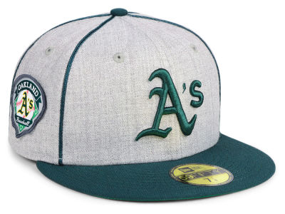 Oakland Athletics New Era MLB Stache 59FIFTY Cap