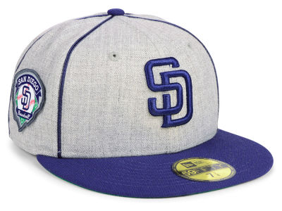 San Diego Padres New Era MLB Stache 59FIFTY Cap