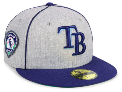 Tampa Bay Rays New Era MLB Stache 59FIFTY Cap