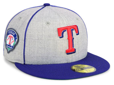 Texas Rangers New Era MLB Stache 59FIFTY Cap