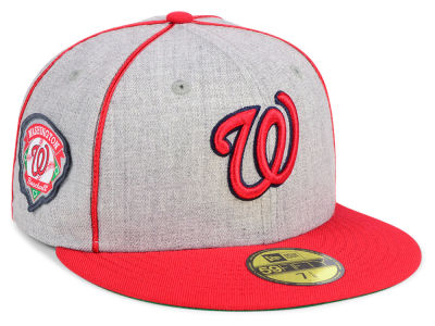 Washington Nationals New Era MLB Stache 59FIFTY Cap