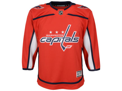 Washington Capitals NHL Youth Premier Blank Jersey