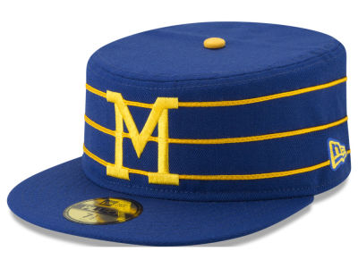Milwaukee Brewers New Era MLB Pillbox 59FIFTY Cap