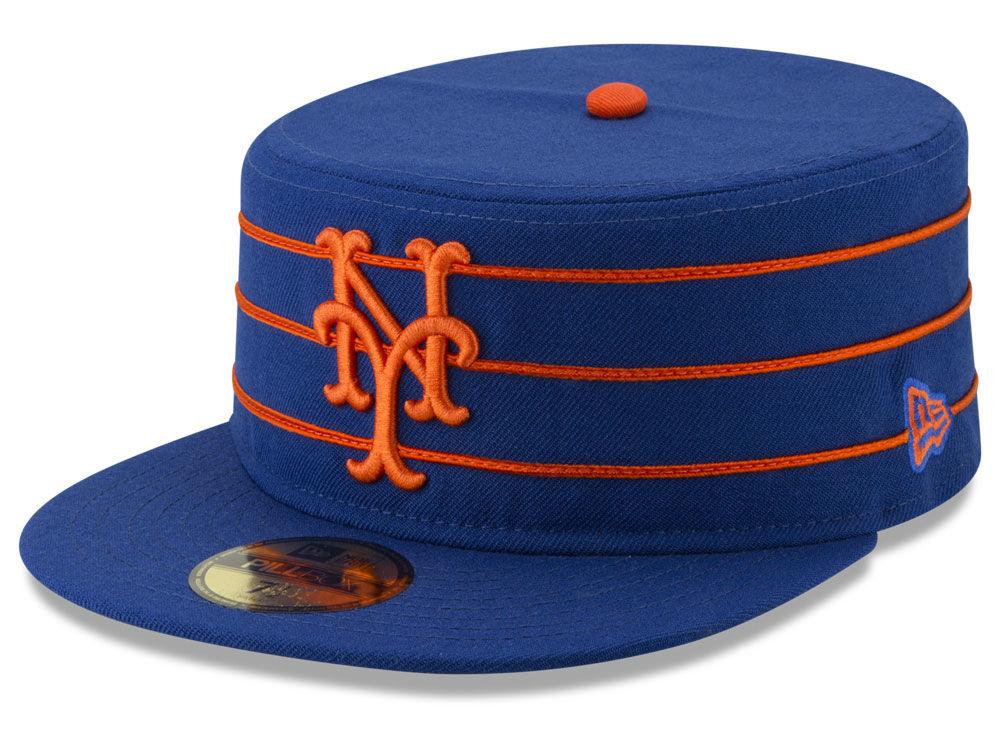 New York Mets New Era MLB Pillbox 59FIFTY Cap  bfcd0a25b518