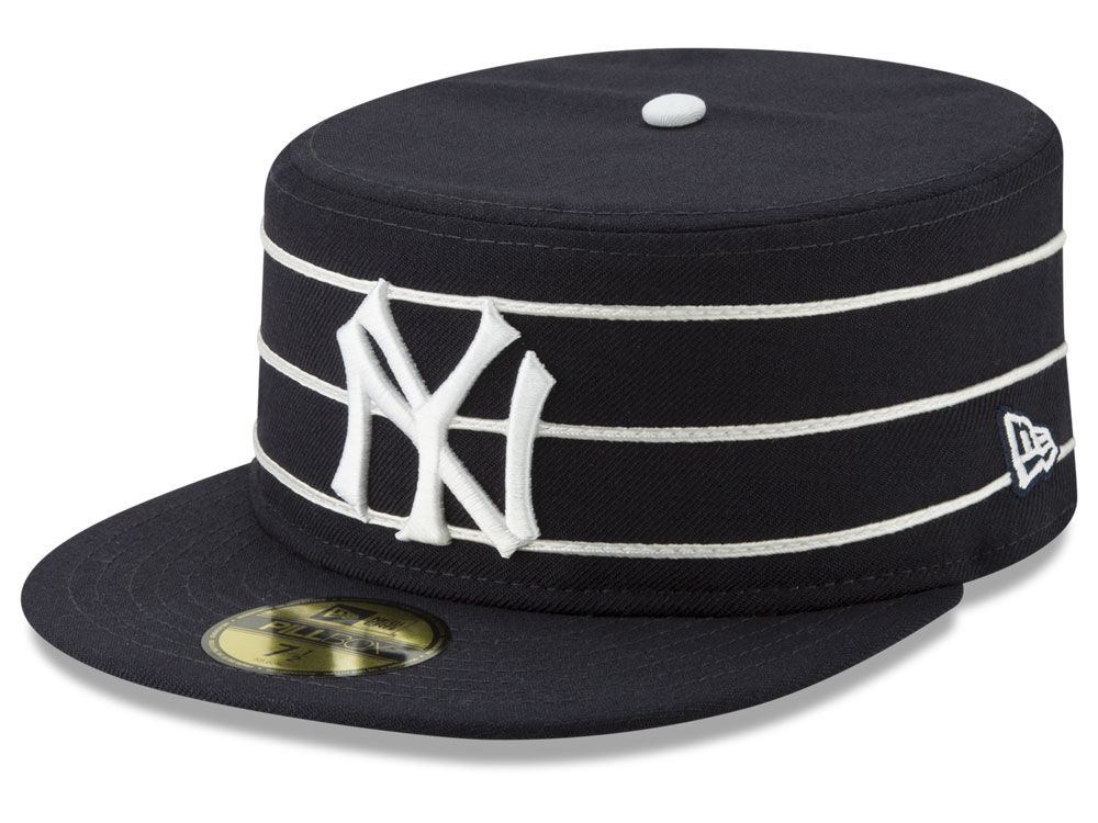 New York Yankees New Era MLB Pillbox 59FIFTY Cap  3ce86a64b0ca