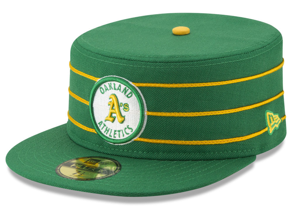Oakland Athletics New Era MLB Pillbox 59FIFTY Cap  ca194a3b6442