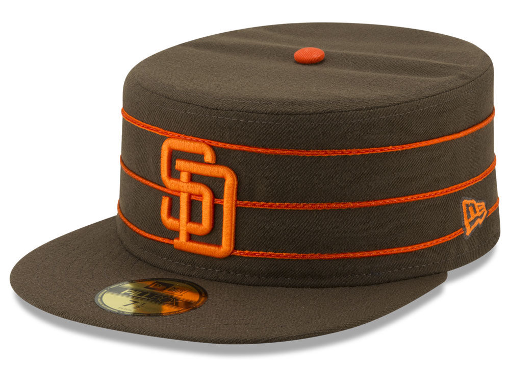 San Diego Padres New Era MLB Pillbox 59FIFTY Cap  c761444c150