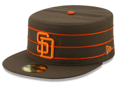 San Diego Padres New Era MLB Pillbox 59FIFTY Cap