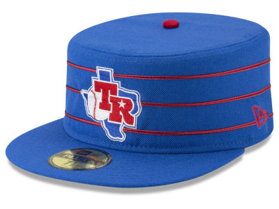 Texas Rangers New Era MLB Pillbox 59FIFTY Cap