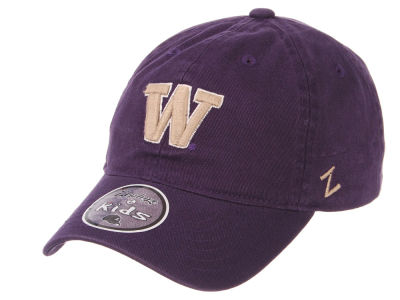 Washington Huskies Zephyr NCAA Youth Scholarship Adjustable Cap