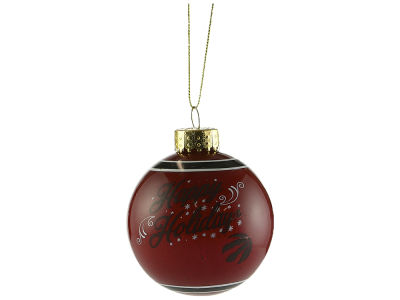 Toronto Raptors 2018 Glass Ball Ornament