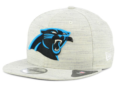 Carolina Panthers New Era NFL Luxe Gray 9FIFTY Snapback Cap